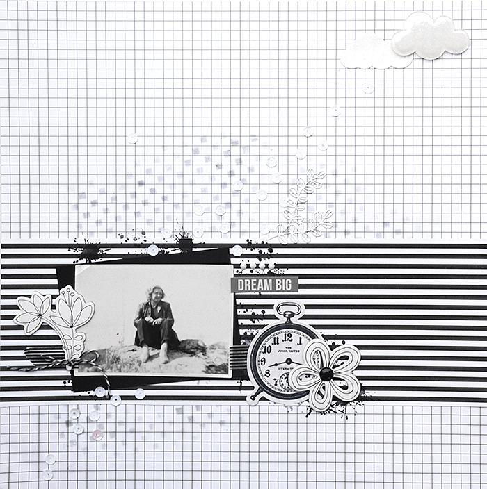 Vitt på vitt - Studio Calico Seven Paper - Amelia