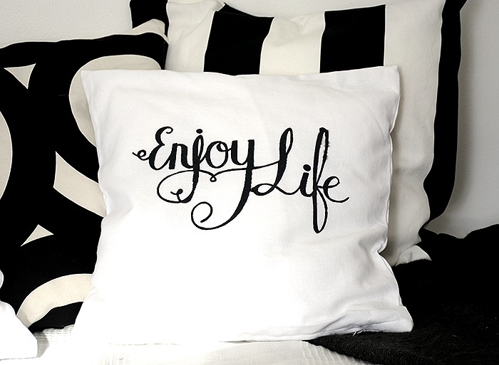 Pillows with print