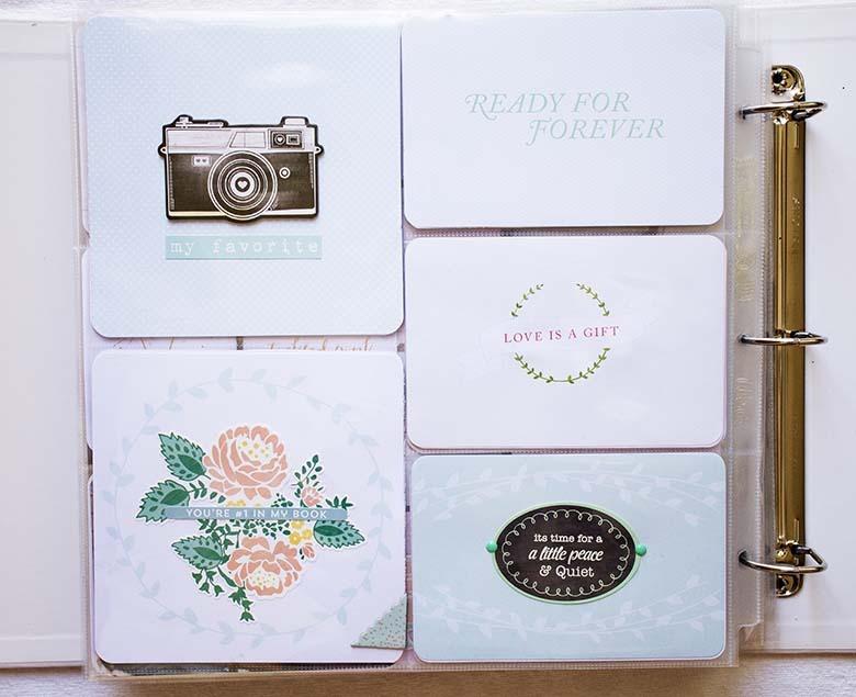 Sista sidan i bröllopsalbumet