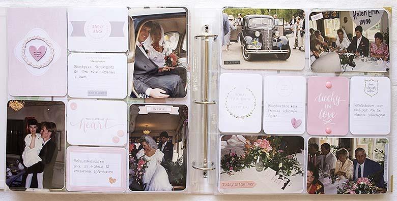 Bröllopsalbum med serien Southern Wedding från Becky Higgins