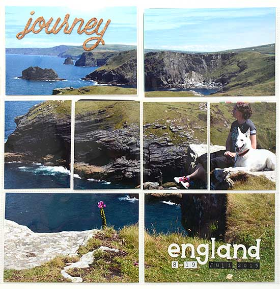 England album, frontpage by HelenTh