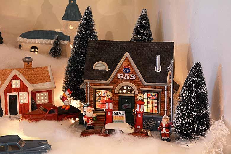 Julförberedelser och lydnadsprov