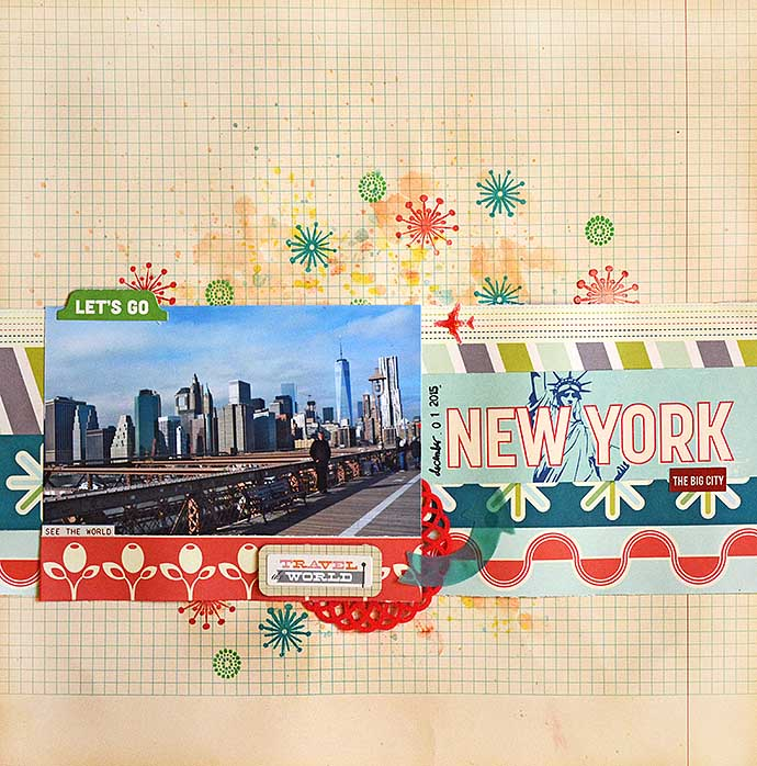 Let's go New York layout by Helens Color Life