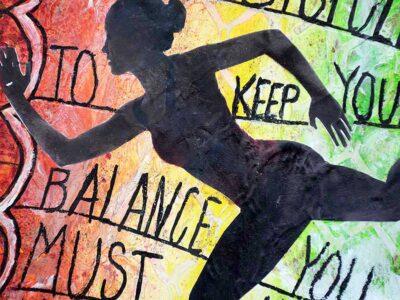 Att hålla balansen