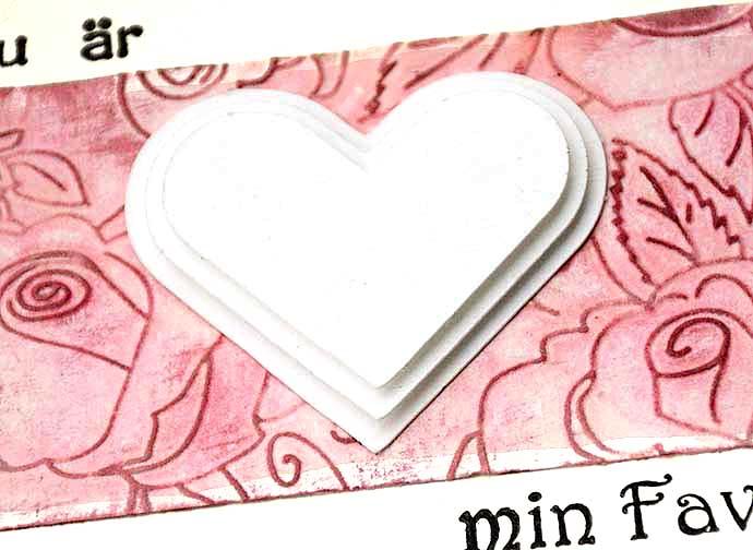 Hjärtekort detaljer 2 av Helens Color Life