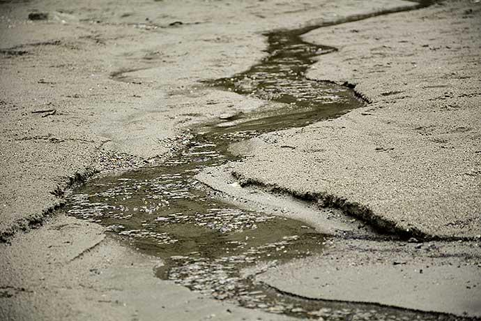 Sandbäck i Balus av Helen