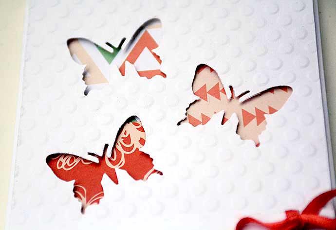 Fjärilskort detaljer av Helens Color Life