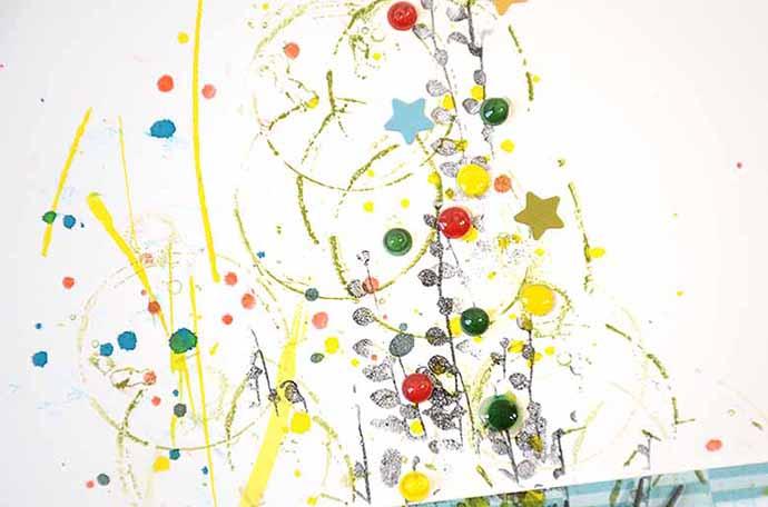 Liten pinne, background, by HelenTh