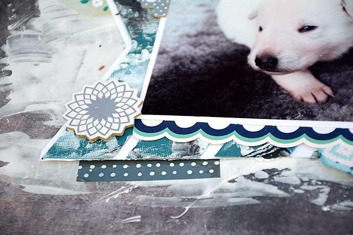 Baby Izor - details by Helen Thalen