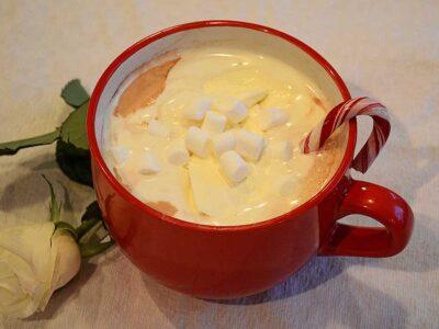 Kall geocaching och varm choklad