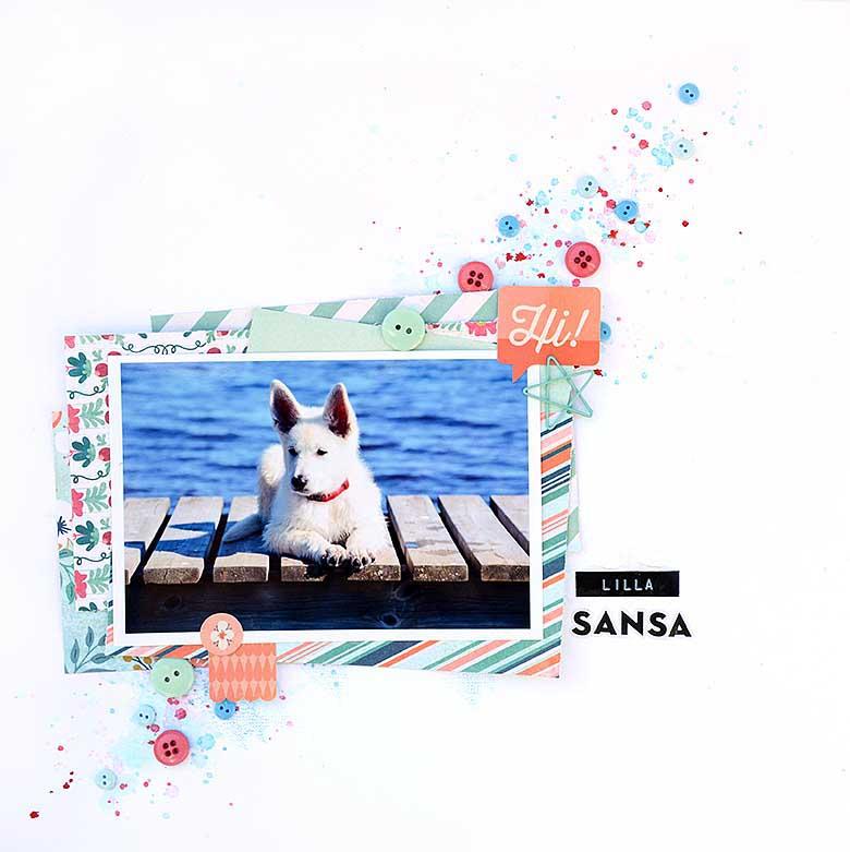 Lilla Sansa av Helens Color Life