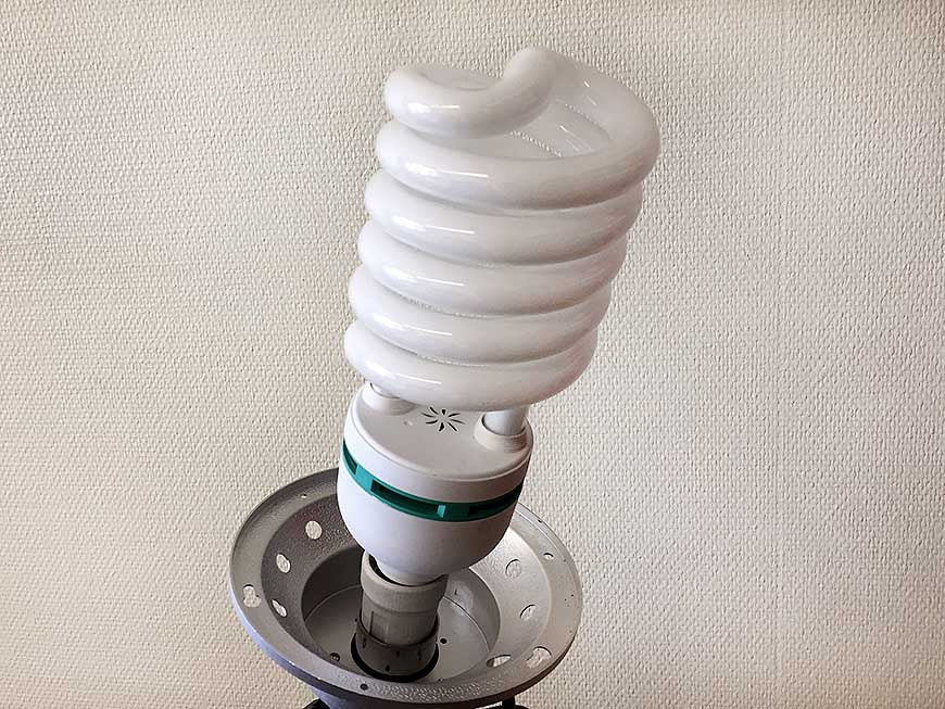 Spirallampa
