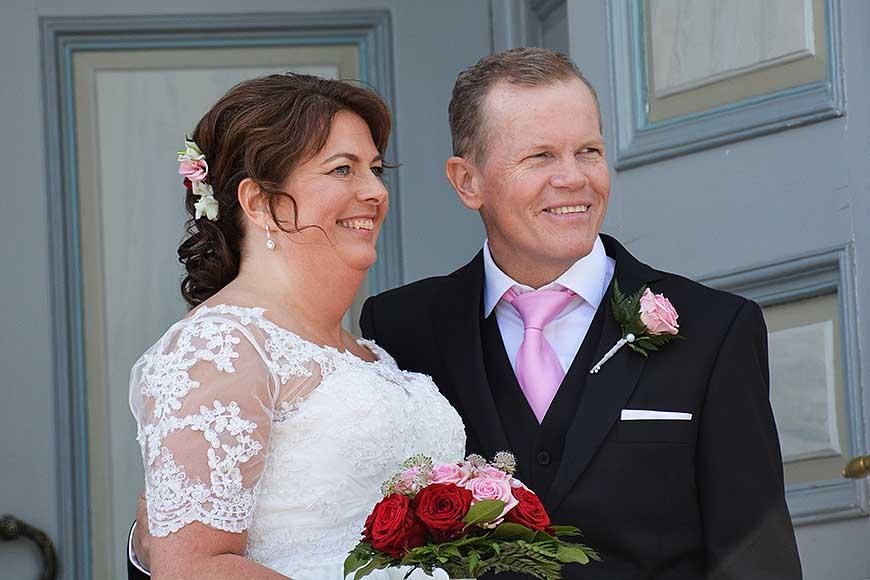 Pingstbröllop för Birgitta och Mats av Helen Thalen