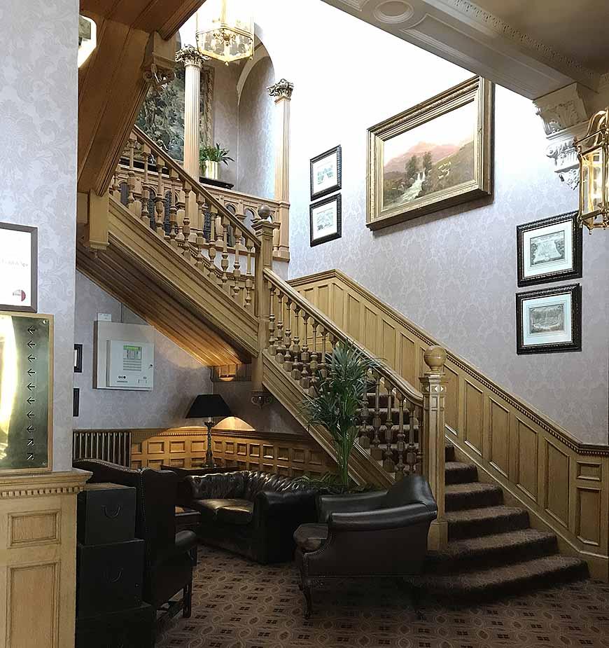 Lobbyn på Norton House & Spa av Helen Thalen