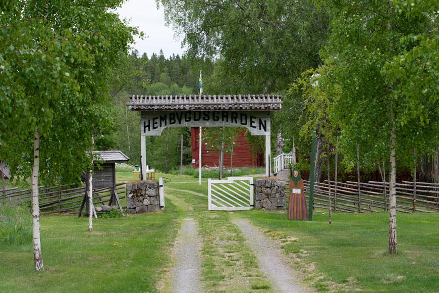 Grundsunda hembygdsgård av Helen Thalen
