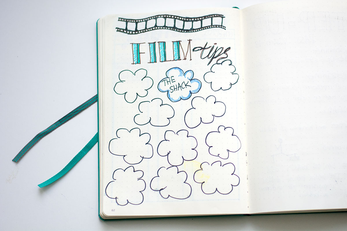 Filmtips i min BuJo