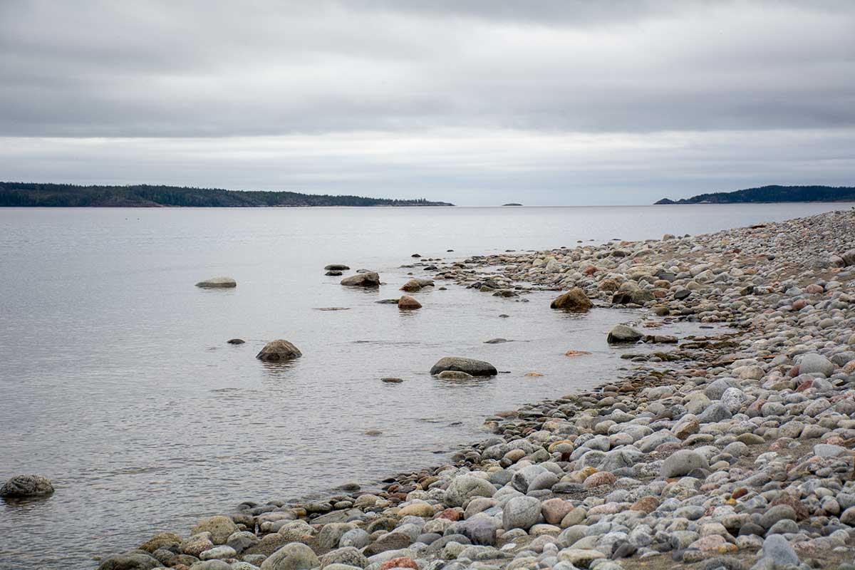 Stenar i många former och färger