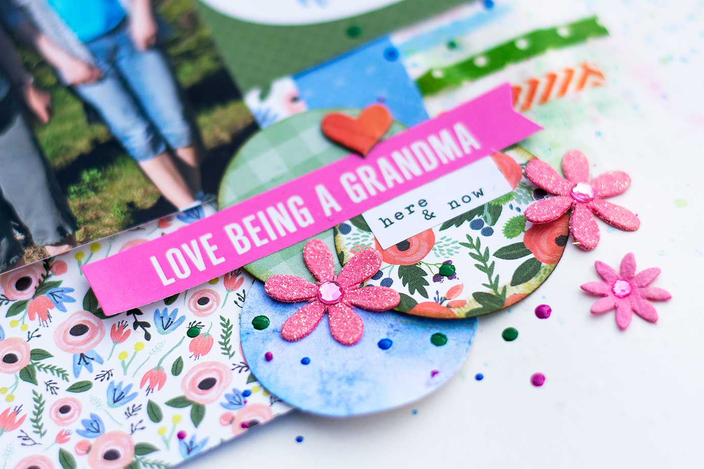Preserve memories with scrapbooking