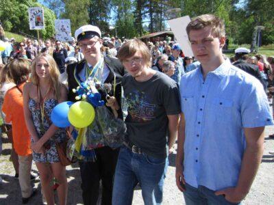 Anton tar studenten